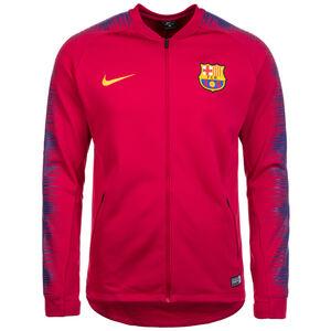 FC Barcelona Anthem Jacke Herren, rot / dunkelblau, zoom bei OUTFITTER Online