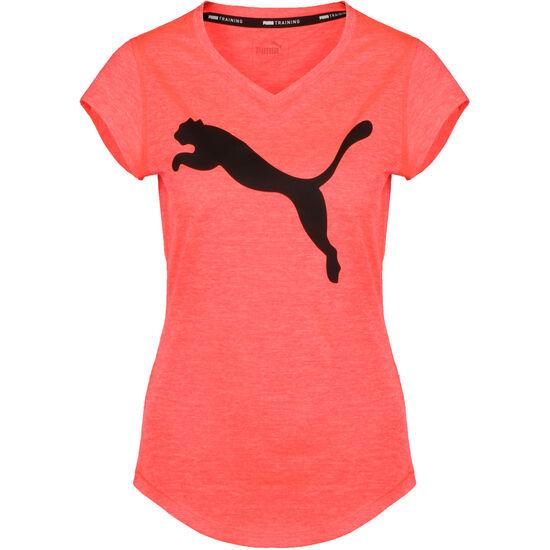 Heather Cat Trainingsshirt Damen, korall / schwarz, zoom bei OUTFITTER Online