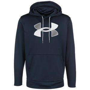 Armour Fleece Big Logo Kapuzenpullover Herren, dunkelblau / grau, zoom bei OUTFITTER Online