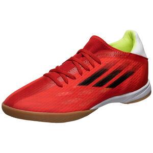 X Speedflow.3 Indoor Fußballschuh Herren, rot / schwarz, zoom bei OUTFITTER Online