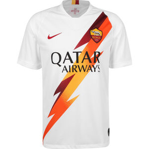 AS Rom Trikot Away Stadium 2019/2020 Herren, weiß / orange, zoom bei OUTFITTER Online