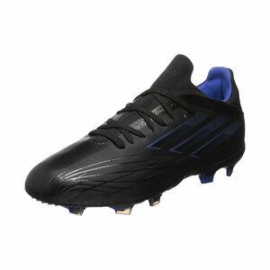 X Speedflow.1 FG Fußballschuh Kinder, schwarz / blau, zoom bei OUTFITTER Online