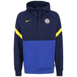 FC Chelsea Travel Fleece Kapuzenpullover Herren, blau / gelb, zoom bei OUTFITTER Online