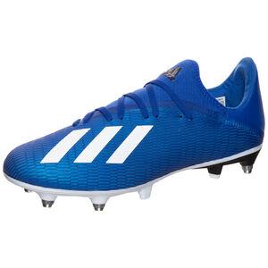 X 19.3 SG Fußballschuh Herren, blau / weiß, zoom bei OUTFITTER Online