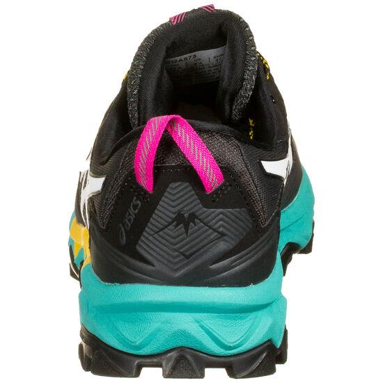 Gel-FujiTrabuco 8 G-TX Laufschuh Damen, schwarz / türkis, zoom bei OUTFITTER Online