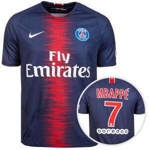 Paris St.-Germain Trikot Home Mbappè 2018/2019 Herren, Blau, zoom bei OUTFITTER Online
