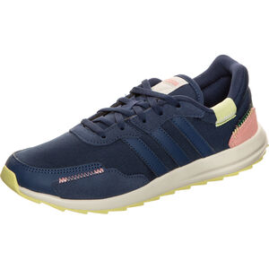 Retro Runner Sneaker Damen, dunkelblau / pink, zoom bei OUTFITTER Online