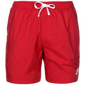 Woven Flow Shorts Herren, rot / weiß, zoom bei OUTFITTER Online