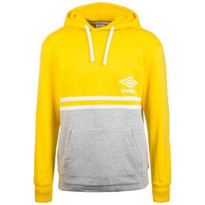 Block Color Kapuzenpullover Herren, gelb / grau, zoom bei OUTFITTER Online