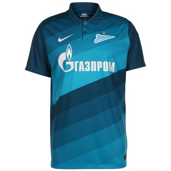 Zenit St. Petersburg Trikot Home Stadium 2020/2021 Herren, blau / weiß, zoom bei OUTFITTER Online