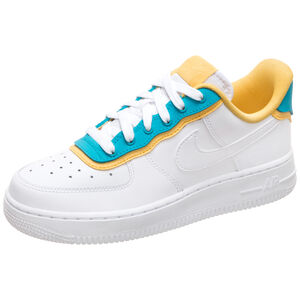 Air Force 1 '07 SE Premium Sneaker Damen, weiß / blau, zoom bei OUTFITTER Online