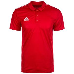 Core 18 Poloshirt Herren, rot / weiß, zoom bei OUTFITTER Online