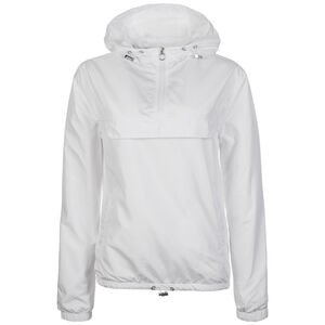 Basic Pull Over Windbreaker Damen, weiß, zoom bei OUTFITTER Online