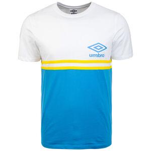 Block Stripe T-Shirt Herren, weiß / blau, zoom bei OUTFITTER Online