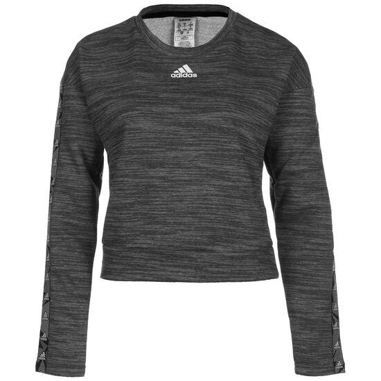 Tape Sweatshirt Damen, dunkelgrau, zoom bei OUTFITTER Online