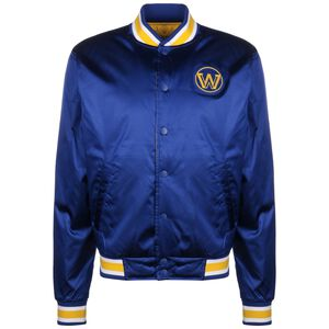 NBA Golden State Warriors Reversible Courtside Trainingsjacke Herren, blau / gelb, zoom bei OUTFITTER Online