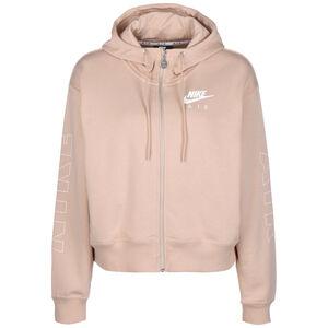 Air Fleece Kapuzensweatjacke Damen, silber, zoom bei OUTFITTER Online