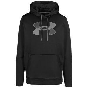 Armour Fleece Big Logo Kapuzenpullover Herren, schwarz / grau, zoom bei OUTFITTER Online