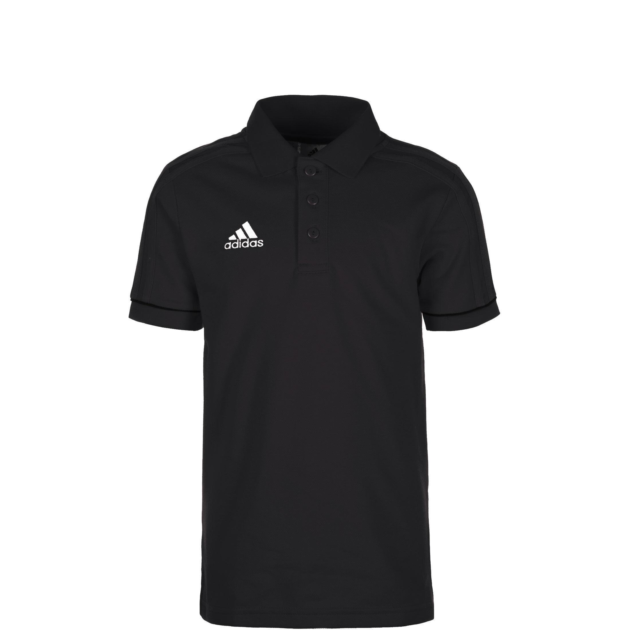 adidas Performance Tiro 17 Poloshirt Kinder weiß schwarz