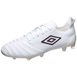 UX Accuro III Pro FG Fußballschuh Herren, weiß / lila, zoom bei OUTFITTER Online