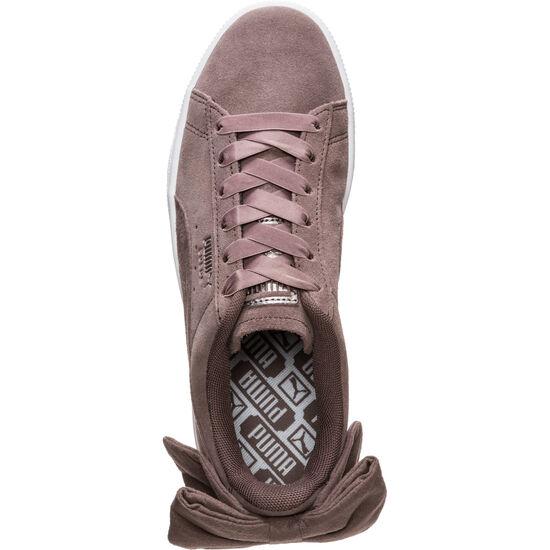 Suede Bow Sneaker Damen, grau, zoom bei OUTFITTER Online