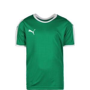 Liga Fußballtrikot Kinder, grün / weiß, zoom bei OUTFITTER Online