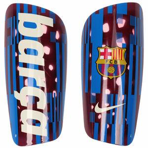 FC Barcelona Mercurial Lite Schienbeinschoner, rot / blau, zoom bei OUTFITTER Online