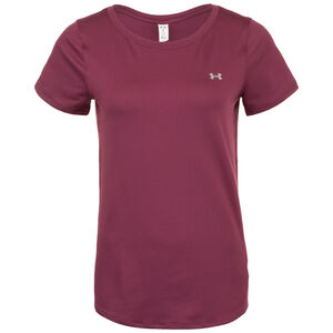 HeatGear Armour Trainingsshirt Damen, bordeaux, zoom bei OUTFITTER Online