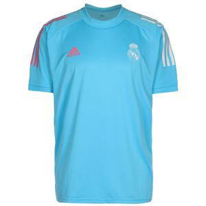 Real Madrid Trainingsshirt Herren, blau / weiß, zoom bei OUTFITTER Online