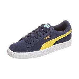 Suede Classic Sneaker Herren, dunkelblau / gelb, zoom bei OUTFITTER Online