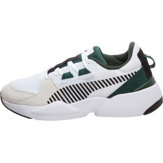 Zeta Suede Sneaker Herren, weiß / grün, zoom bei OUTFITTER Online