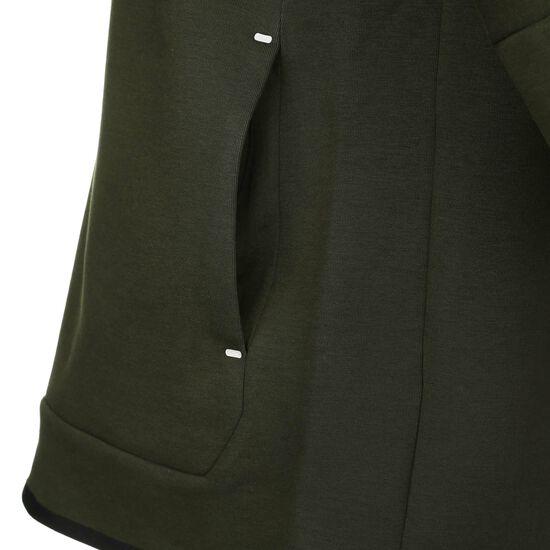 Tech Fleece Reflective Kapuzenpullover Herren, dunkelgrün / schwarz, zoom bei OUTFITTER Online