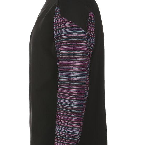 ftblNXT 1/4 Zip Sweatshirt Herren, schwarz / pink, zoom bei OUTFITTER Online