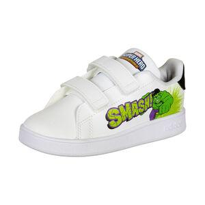 Advantage 1 Sneaker Kinder, weiß / grün, zoom bei OUTFITTER Online