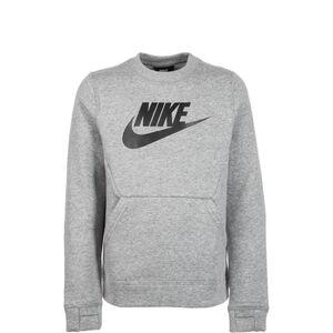 Club Fleece Crew Sweatshirt Kinder, grau / schwarz, zoom bei OUTFITTER Online