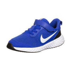 Revolution 5 Laufschuh Kinder, blau / weiß, zoom bei OUTFITTER Online
