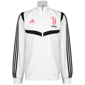 Juventus Turin Präsentationsjacke Herren, weiß / schwarz, zoom bei OUTFITTER Online