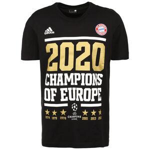 FC Bayern München UCL Winner 2020 T-Shirt Herren, schwarz / weiß, zoom bei OUTFITTER Online
