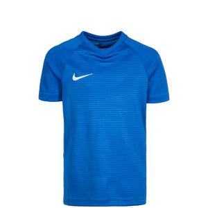 Dry Tiempo Premier Fußballtrikot Kinder, blau / weiß, zoom bei OUTFITTER Online