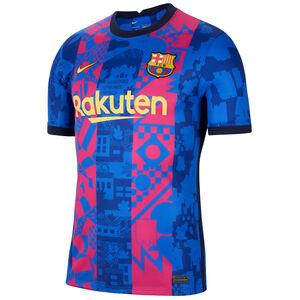 FC Barcelona Trikot 3rd Stadium 2021/2022 Herren, blau / rot, zoom bei OUTFITTER Online