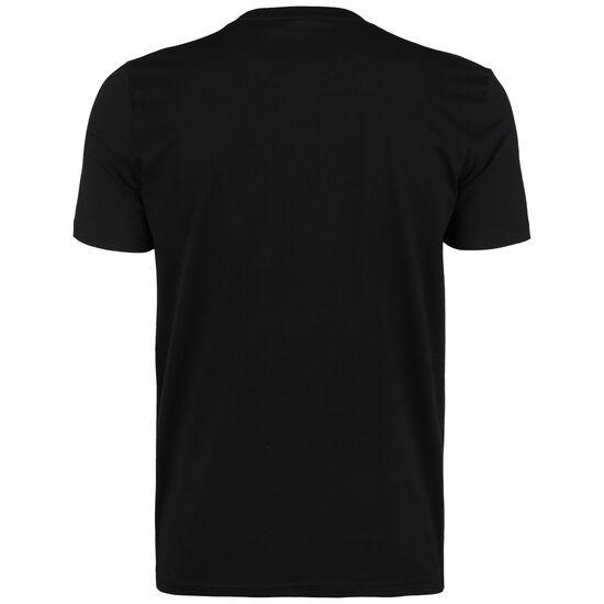 Linear Logo Graphic T-Shirt Herren, schwarz / weiß, zoom bei OUTFITTER Online