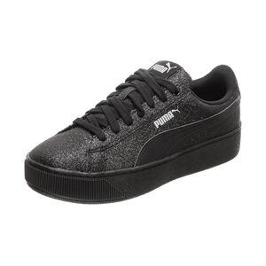 Vikky Platform Glitz Sneaker Kinder, schwarz, zoom bei OUTFITTER Online