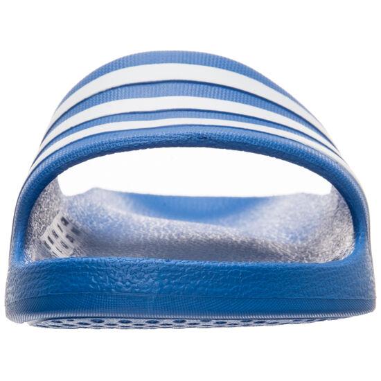 Aqua Adilette Badesandale, blau / weiß, zoom bei OUTFITTER Online