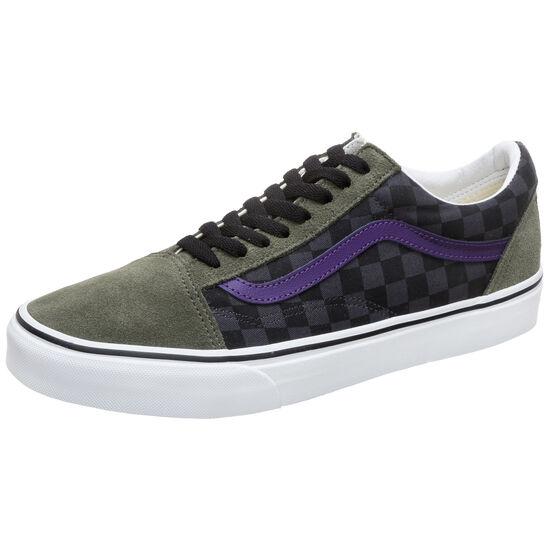 Old Skool Sneaker Herren, oliv / lila, zoom bei OUTFITTER Online