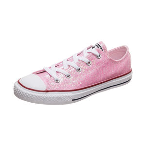 Chuck Taylor All Star Sparkle OX Sneaker Kinder, rosa, zoom bei OUTFITTER Online
