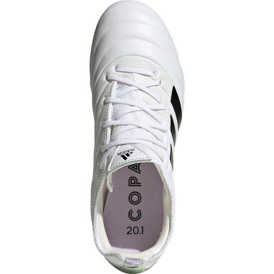 Copa 20.1 FG Fußballschuh Kinder, weiß / schwarz, zoom bei OUTFITTER Online