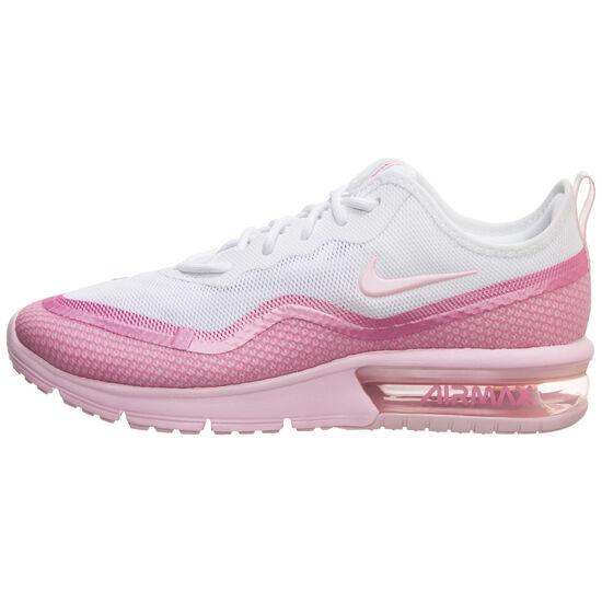 Air Max Sequent 4.5 SE Sneaker Damen, weiß / pink, zoom bei OUTFITTER Online