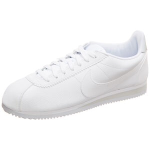 Classic Cortez Leather Sneaker Herren, weiß / grau, zoom bei OUTFITTER Online