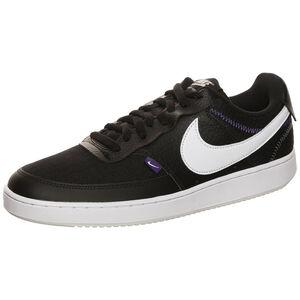 Court Vision Low Premium Sneaker Herren, schwarz / weiß, zoom bei OUTFITTER Online