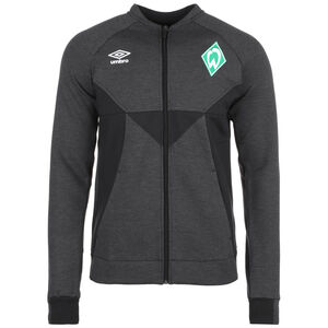 SV Werder Bremen Präsentationsjacke Herren, anthrazit / schwarz, zoom bei OUTFITTER Online